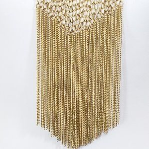 Festival Jewelry - Boho Luxe Chain Necklace Statement Necklace